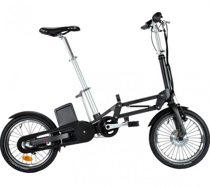 Mobiky Elektro-Faltrad Youri schwarz