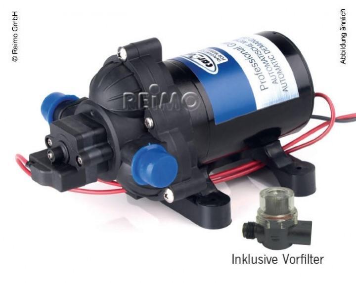 Carbest Druckwasserpumpe 12 Volt 7 Liter/min 1,4 bar
