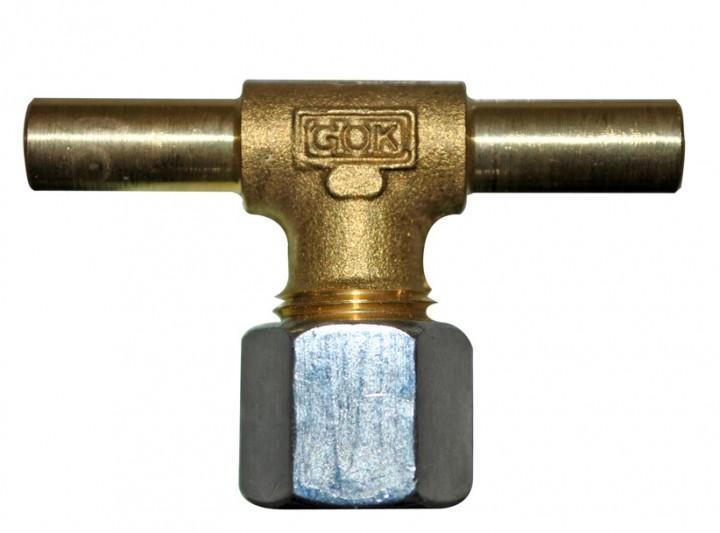 GOK Zapfen T-Stück 8 mm