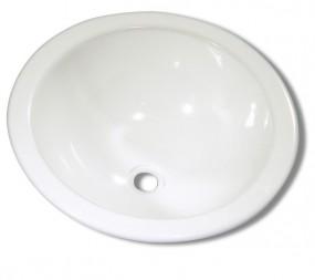 Waschbecken Einlegemulde rund 360 mm
