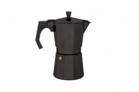 Relags Espresso Maker 'Bellanapoli' 9 Tassen, schwarz