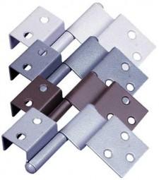 Spezialscharnier für Türen links mittelgrau