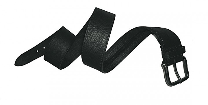Leathersafe Geldgürtel 'Shine', schwarz 95 cm