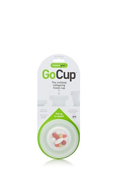 humangear 'GoCup' 237 ml, weiß