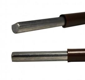 PUSH-Lock Profilstangen 6 x 100 cm braun