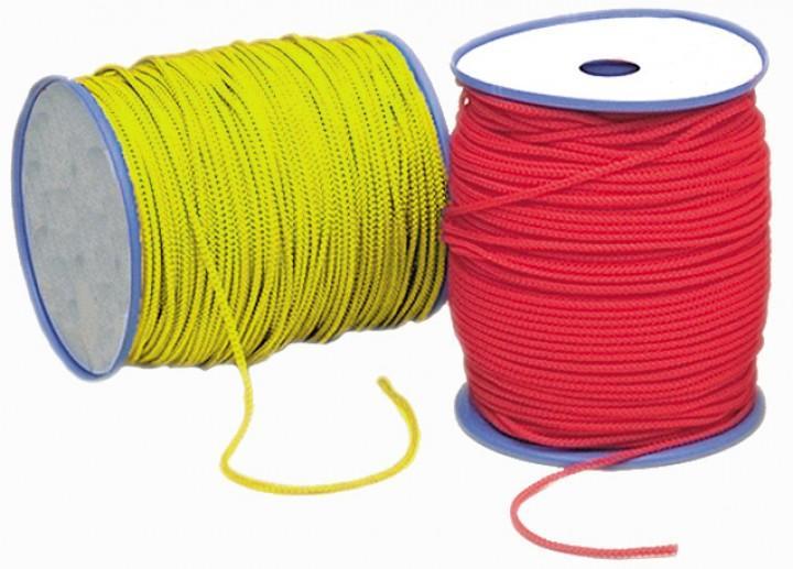 Relags Seile auf 200 Meterrollen 6 mm, weiss