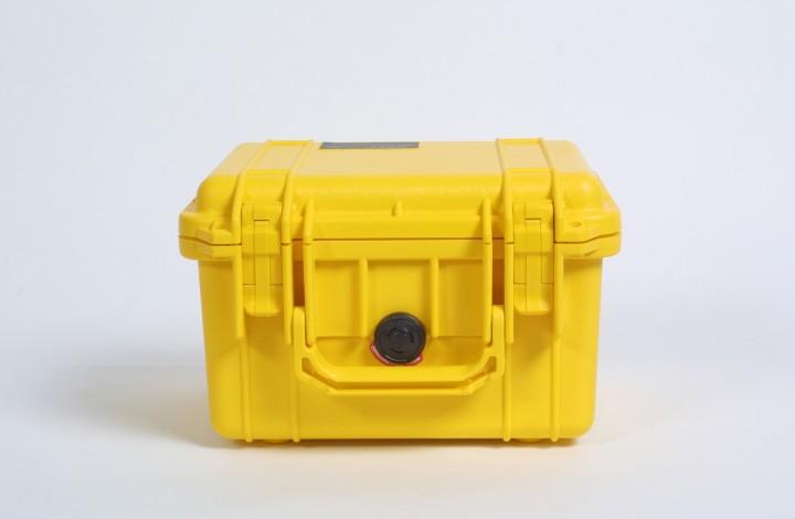 Pelibox 1300 gelb mit Schaumeinsatz