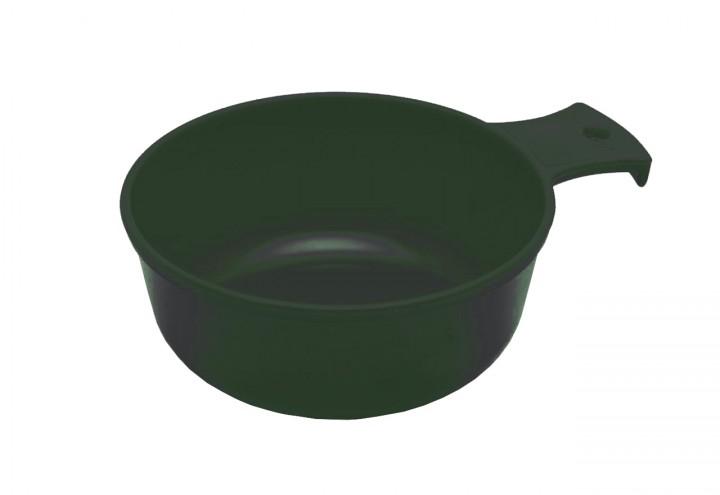 'Berghaferl' rund olive