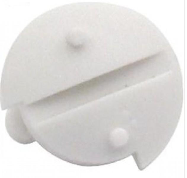 Verriegelungsschraube für Dometic-Lüftungsgitter und Winterabdeckungen, weiß, 50 Stück