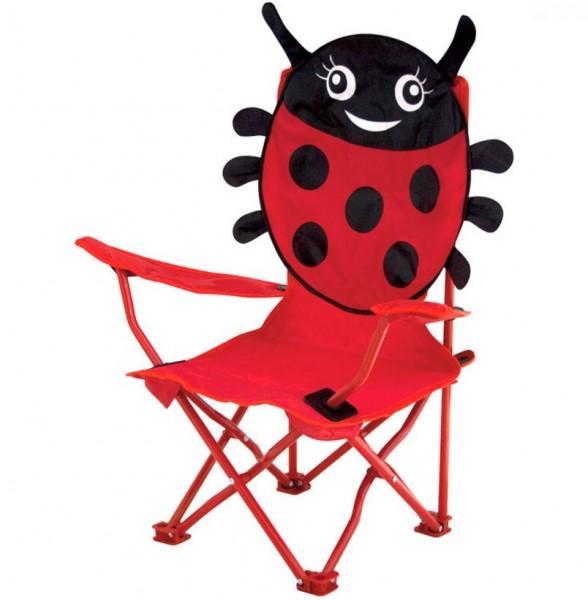 kinder faltstuhl marienk fer camping outdoor zubeh r. Black Bedroom Furniture Sets. Home Design Ideas