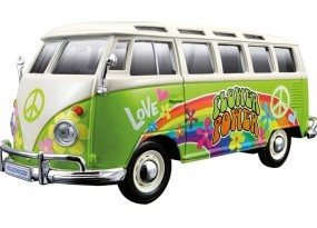 Fahrzeugmodell VW Bus Samba