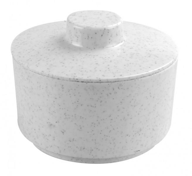 Granit uni Zuckerdose