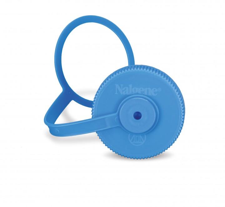 Nalgene Deckel Weithalsfl. 1L, Ø63/53mm blau