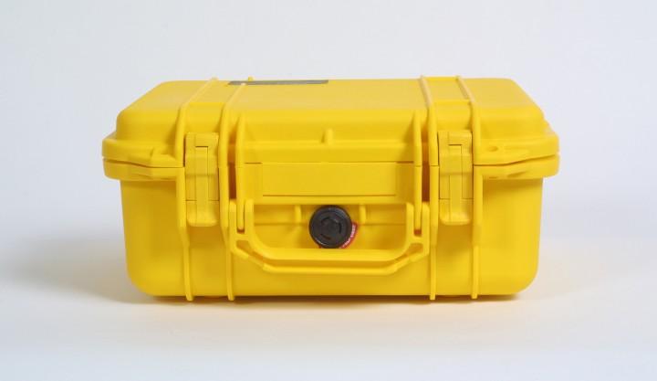 Pelibox 1400 gelb mit Schaumeinsatz