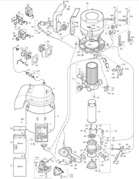 Deckel Verkleidung Ersatzteil für Trumatic C Heizung