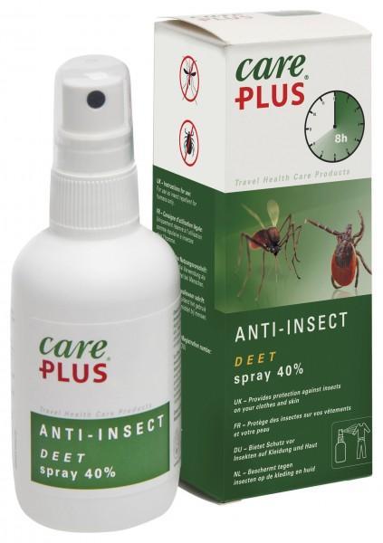 CarePlus® Anti-Insect Deet Spray 40% 100 ml