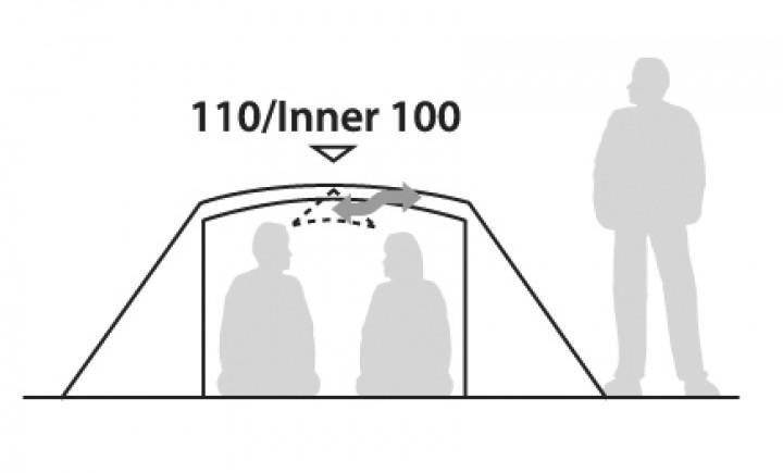 Robens Lodge 2 Personen Zelt