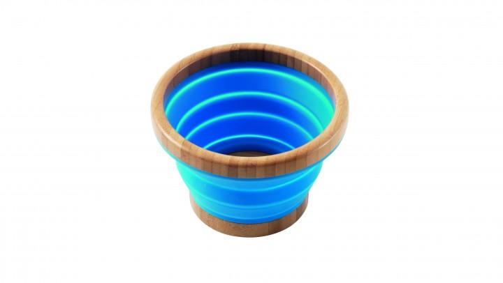 Outwell Schüssel Bambus Collaps M blau