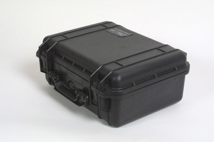 Pelibox 1450 schwarz mit Schaumeinsatz