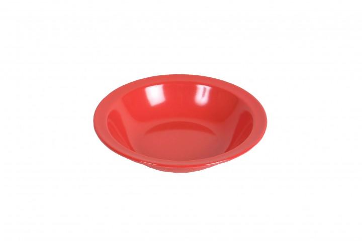 Waca Melamin, rot Teller tief Ø 20,5 cm