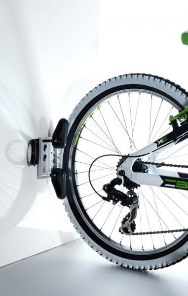 Fahrradparksystem Bikeprofix mit Wandadapter