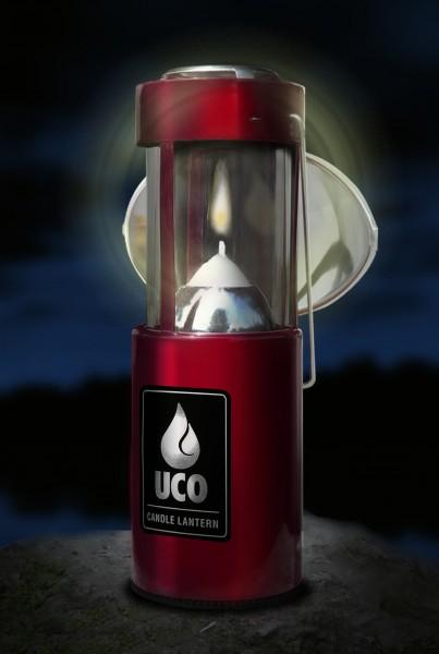 UCO Kerzenlaternen Set rot