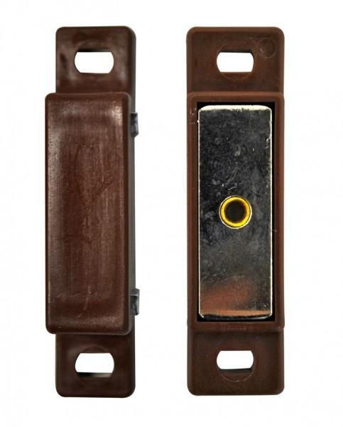 Magnet-Verschluss braun