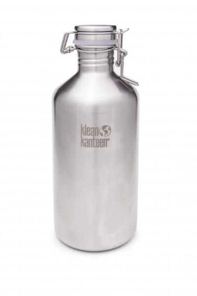 Klean Kanteen Flasche 'Classic Growler' edelstahl, 1,9 L