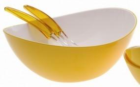 Gimex Salatschale groß gelb