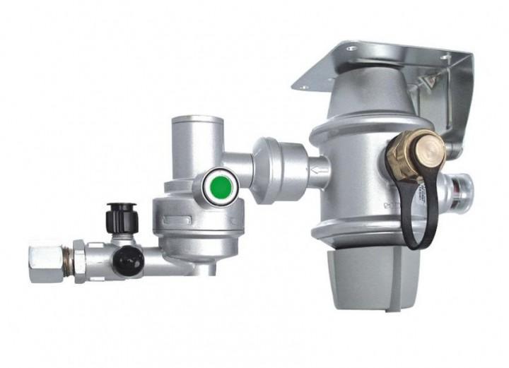 Gasdruckregler DuoControl CS 50 mbar horizontale Montage