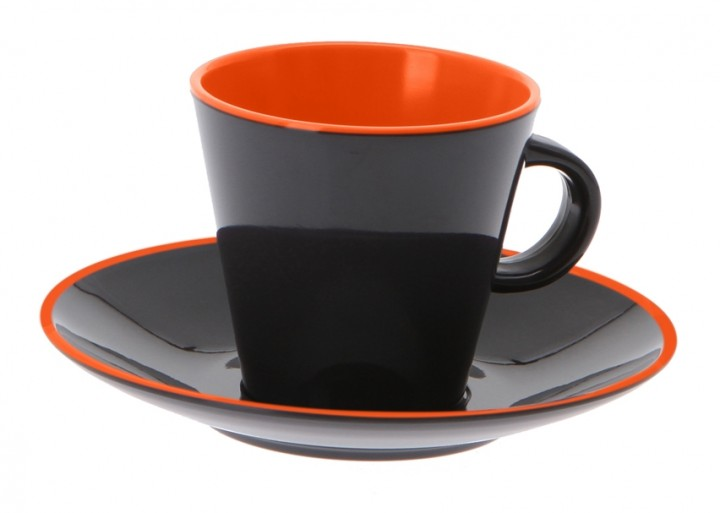 Gimex Espresso-Set orange