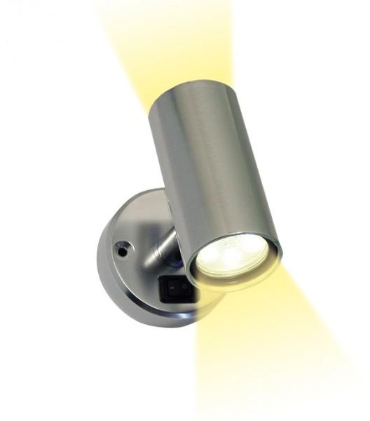 Frilight Spot Minitube D2 2x6 SMD Aluminium
