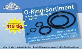 O-Ring Zoll Sortiment 419 tlg.