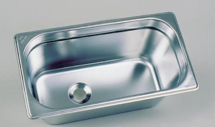 Becken Edelstahl 325x176mm