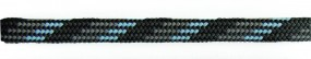 Barth Schuhbandl, 6er Pack, halbrund, 150 cm Farbe '293' hellblau/grau