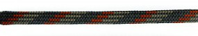 Barth Schuhbandl, 6er Pack, halbrund, 150 cm Farbe '300' orange/grau