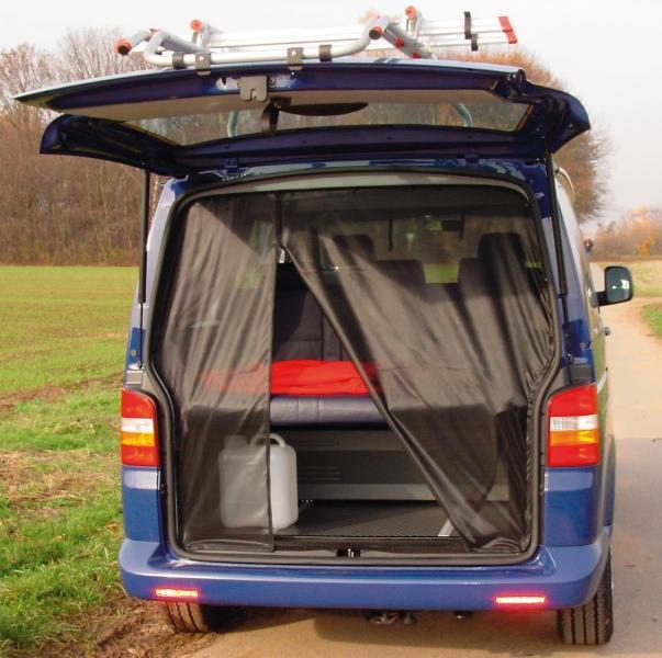 Moskitonetz VW T5 Heckklappe