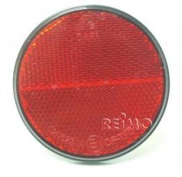 Reflektoren rund rot selbstklebend