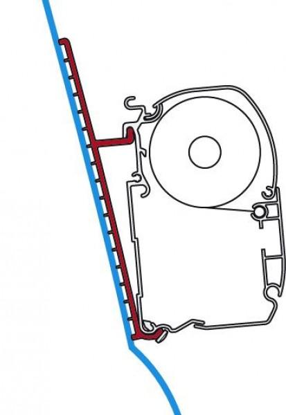 Fiamma Adapter für F45 Hochdach Fiberglas