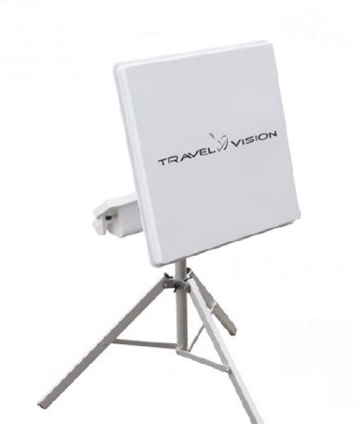 Sat-Anlage Travel Vision R6-Flat Twin