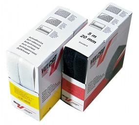 Velcro Haken und Flausch 5 m Box schwarz