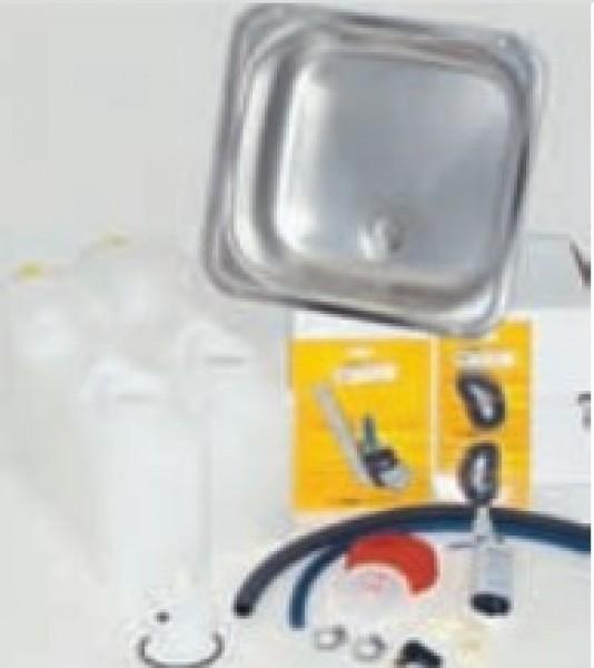 Küchenteil Kompakt mit 12 l Kanistern und Spülbecken