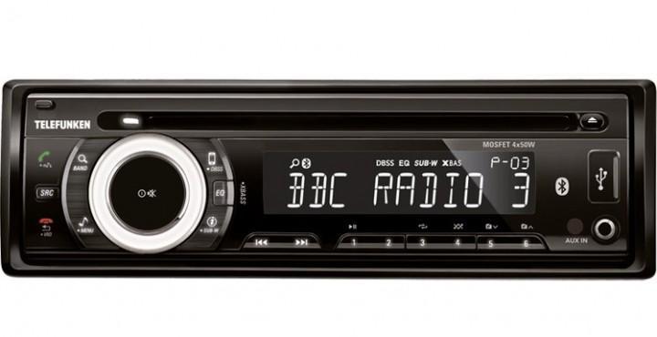 Autoradio CD-Spieler Telefunken TFA-ES7125 BT
