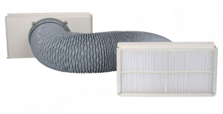 Flexible Raumluftansaugung für Klimaanlagen Saphir, Schlauchlänge 2,00m