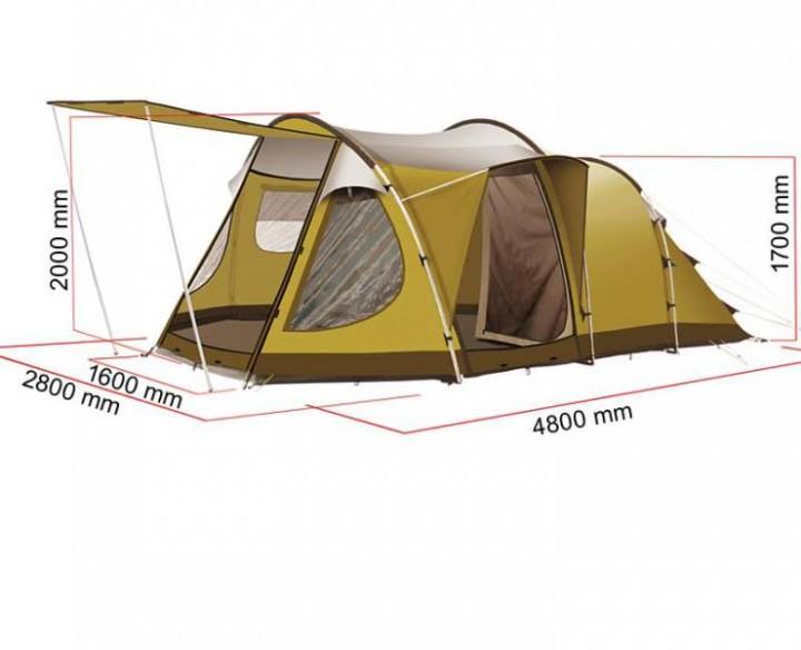 Campingzelt Bregenz 2 Z5 Family Edition