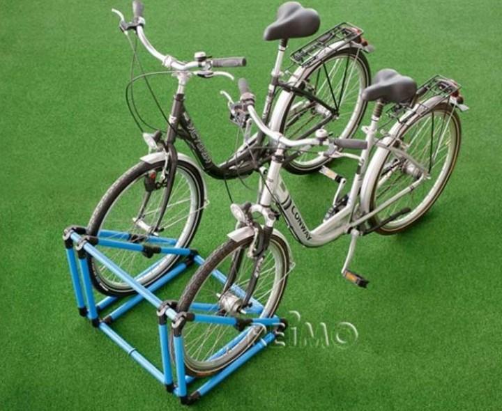 Mobiler Fahrradparker