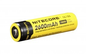 NiteCore 18650 Li-Ion Akku 2600 mAh