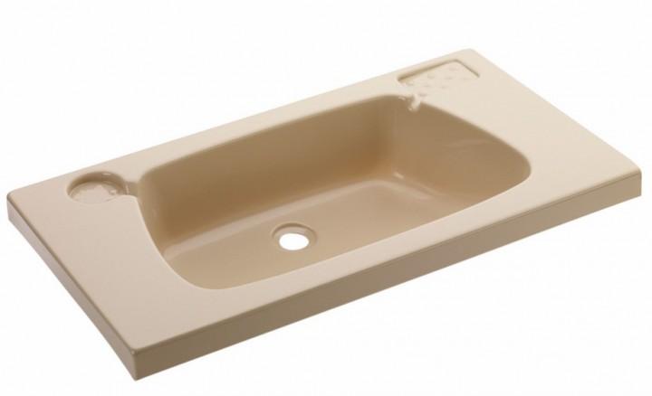 Waschbecken 620 x 340 mm beige