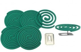 Antimückenspirale zur Verwendung im Freien