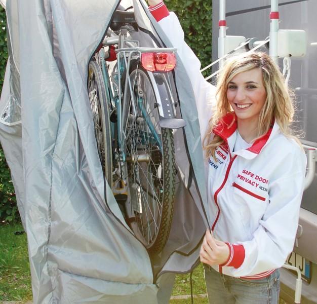 Fiamma Fahrradschutzhülle Bike Cover Premium S für bis zu 4 Fahrräder